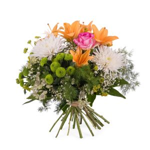 Spring Bouquet with Anastasias and Lilies