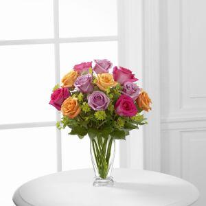 The FTD Pure Enchantment Rose Bouquet